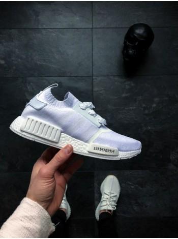 Кроссовки Adidas NMD R1 PK (Ftwr White / Ftwr White / Ftwr White)
