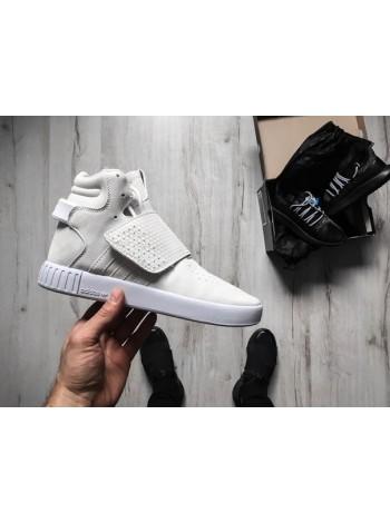 Кроссовки adidas Tubular Invader Strap white