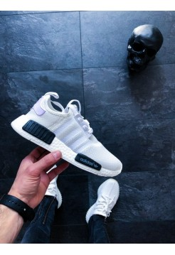 Кроссовки Adidas NMD R1 Oreo White/Core Black