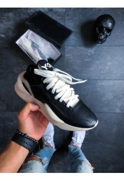 Кроссовки Adidas Y-3 Kaiwa (Black Y-3 / Black Y-3 / Ftwr White)