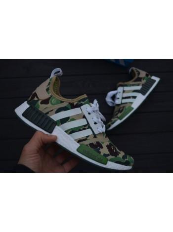 Кроссовки BAPE x adidas NMD