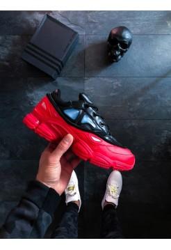 Кроссовки adidas x Raf Simons Ozweego Bunny Red Black