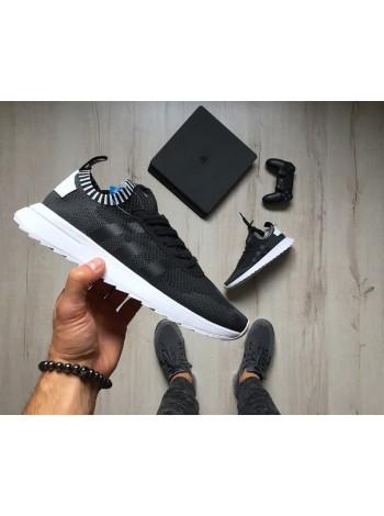 "Кроссовки adidas Flashback W Primeknit ""Core Black/Footwear White"""