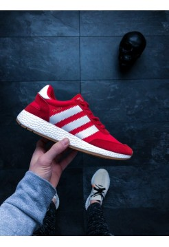 Кроссовки Adidas Iniki Runner black red