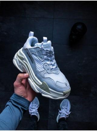 Кроссовки Balenciaga Triple S Sneakers Light Grey