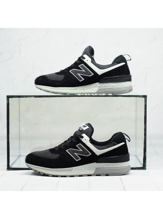 Кроссовки NB 574 Black Gray