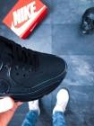 Кроссовки Nike Air Max 90 Leather (Black / Black)