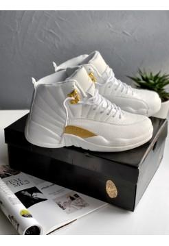 Кроссовки Nike Air Jordan 12 Retro Ovo White
