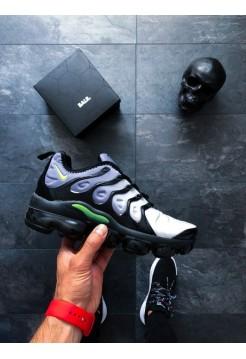 Кроссовки Nike Air Vapormax Plus (Black / Volt - White)