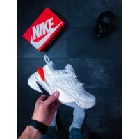"Кроссовки Nike M2K Tekno ""Phantom"" (Hyper Crimson)"