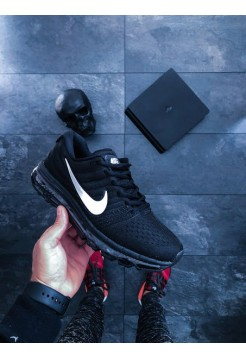 Кроссовки Nike Air Max 2017 (Black / White - Anthracite)