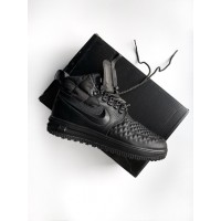 Кроссовки Nike Lunar Force 1 Duckboot '17 Black/ Black-Anthracite