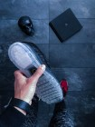 Кроссовки Nike Flyknit Air Max 'Black Dark Grey Anthracite'