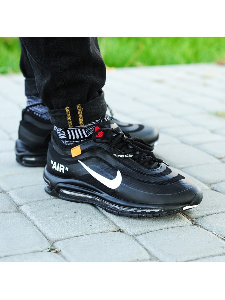Кроссовки OFF-WHITE x Nike Air Max 97 Black