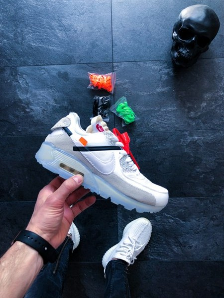 Кроссовки Off-White x Nike Air Max 90