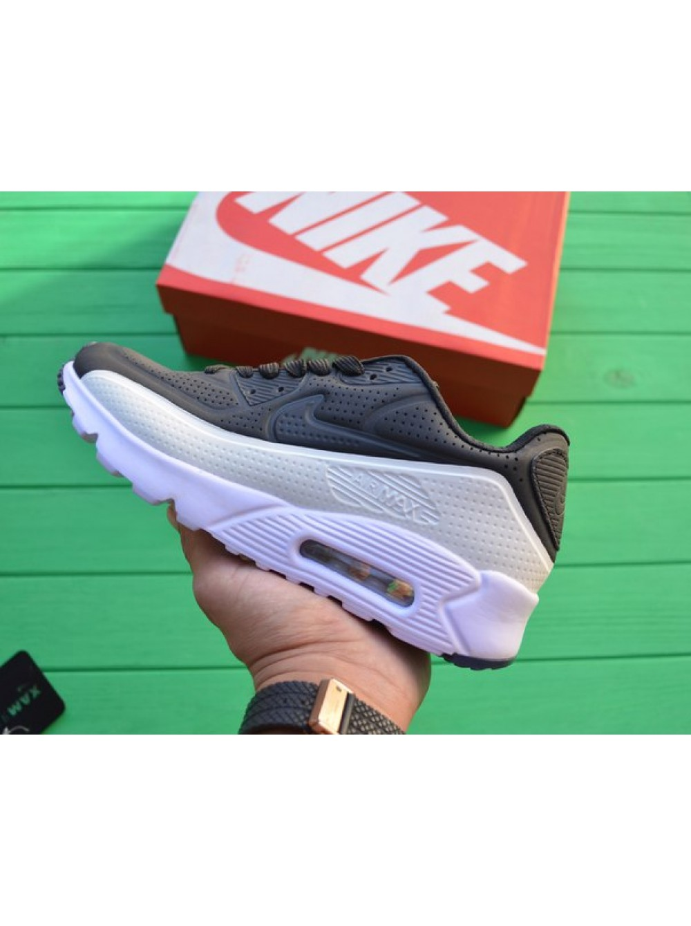 size 40 6db8c d8be6 Кроссовки Nike Air Max 90 Ultra Moire Two Tone Black