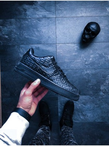 Кроссовки Nike Air Force 1 07 LV8 Black Croc