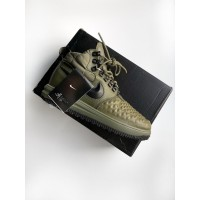 Кроссовки Nike Lunar Force 1 Duckboot '17 (Medium Olive / Black – Wolf Grey)