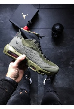 Кроссовки air max 95 sneakerboot green