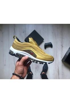 Кроссовки Nike Air Max 97 OG QS Metallic Gold