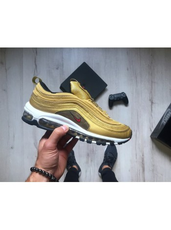 Кроссовки Nike Air Max 97 OG QS Metallic Gold