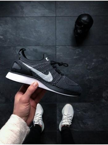 Кроссовки Nike Air Zoom Mariah Flyknit Racer (Black / White — Dark Grey)