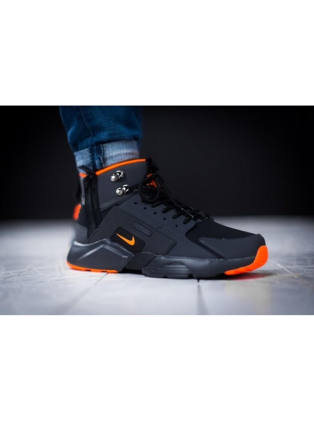sale retailer 09fab c1b17 Кроссовки ACRONYM x Nike Huarache City MID Leather