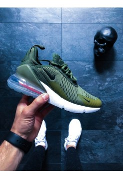 Кроссовки Nike Air Max 270 (Medium Olive / Black)
