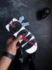 Кроссовки Nike Air More Money (White / Black - Team Red)
