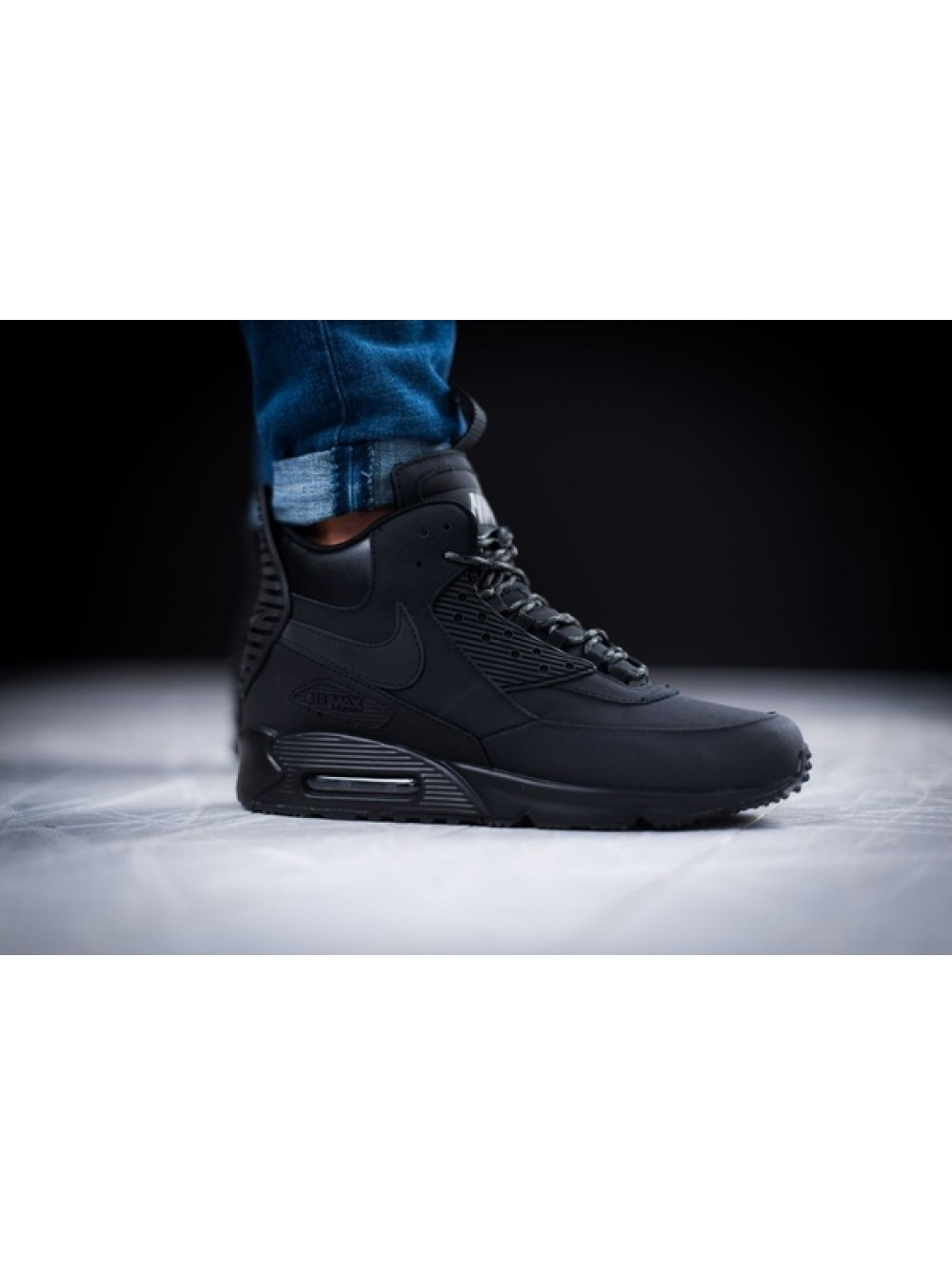 new concept 70a26 55c0e Кроссовки Nike Air Max 90 Sneakerboot Winter Black/White