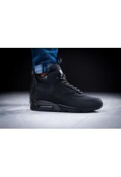 Кроссовки Nike Air Max 90 Sneakerboot Winter Black/White