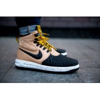 "Кроссовки Nike Lunar Force 1 Duckboot '17 ""Gold Black"""