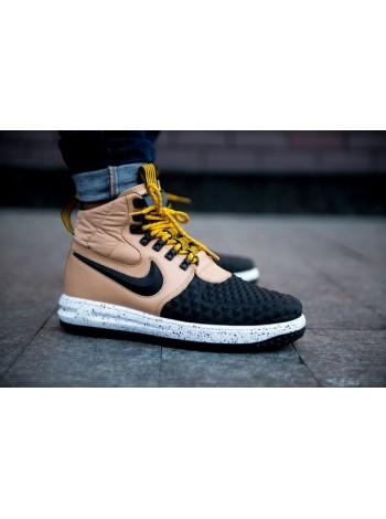 "Кроссовки Nike Lunar Force 1 Duckboot '17 ""Gold Black"""