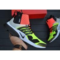 "Кроссовки NikeLab Air Presto Mid x Acronym ""Hot Lava"""