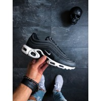 Кроссовки NikeLab Air Max Plus 97 (Black / Anthracite - White)