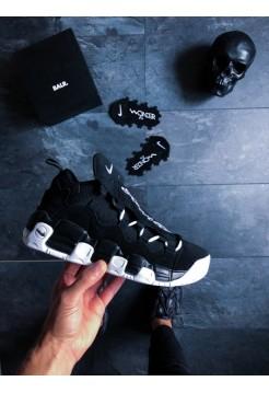 Кроссовки Nike Air More Money (Black / White - Black)