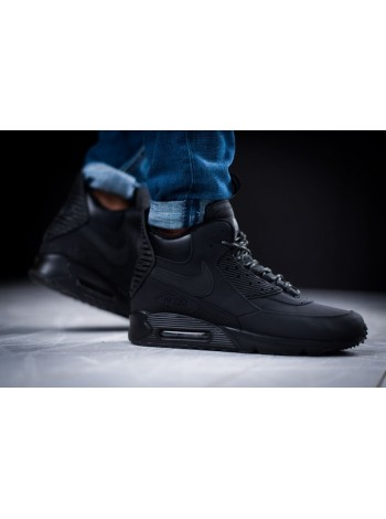 Кроссовки Nike Air Max 90 Sneakerboot Triple Black