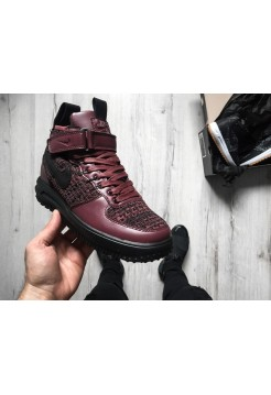 Кроссовки Nike Lunar Force 1 Flyknit Workboot Purple, Black