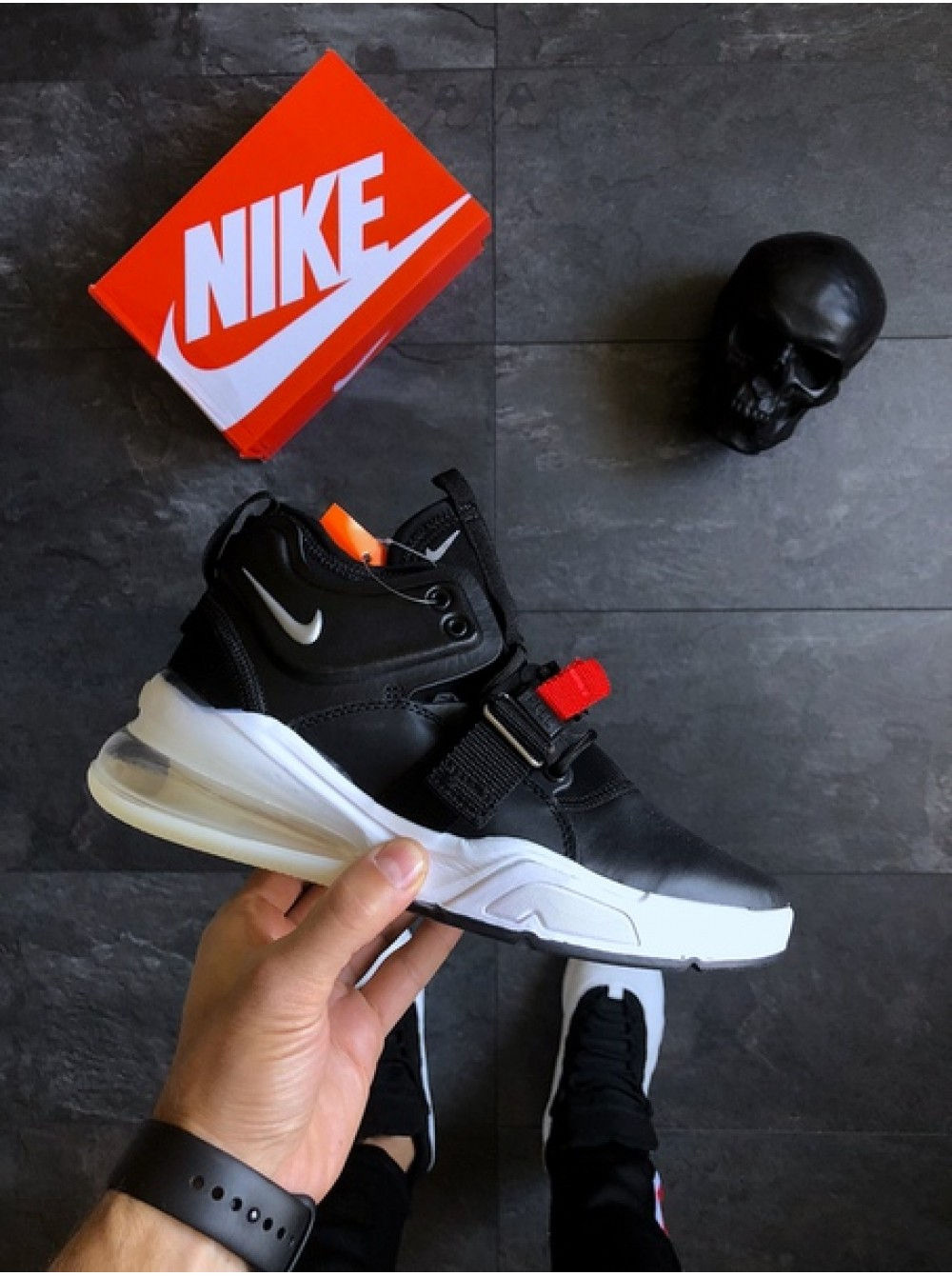 """best service d848b 4be13 Кроссовки Nike Air Force 270 """"Bred"""""""
