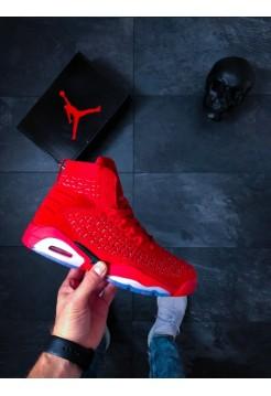 Кроссовки Nike Jordan Flyknit Elevation 23 (GS) (University Red / Black)
