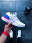 "Кроссовки Nike Epic React Flyknit ""White & Racer Blue"""