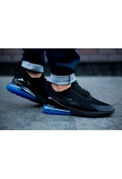 "Кроссовки Nike Air Max 270 ""Black & Photo Blue"""