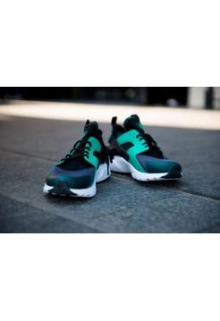 Кроссовки Nike Air Huarache black green