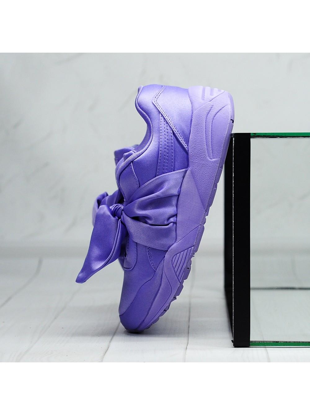 the latest fdc1e 4c5eb Кроссовки Puma Fenty x Rihanna Bow Sneaker violet