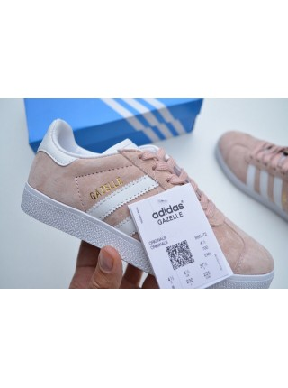 Adidas Gazelle (Vapour Pink & White)