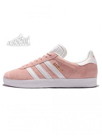 Adidas Gazelle Vapour Pink & White