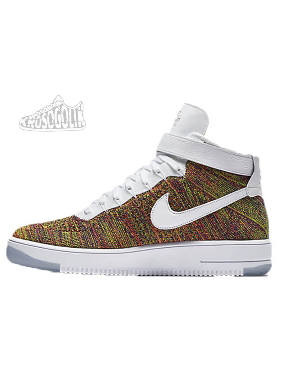 Force Nike Mid Air Flyknit 1 Ultra WI2HEYeD9