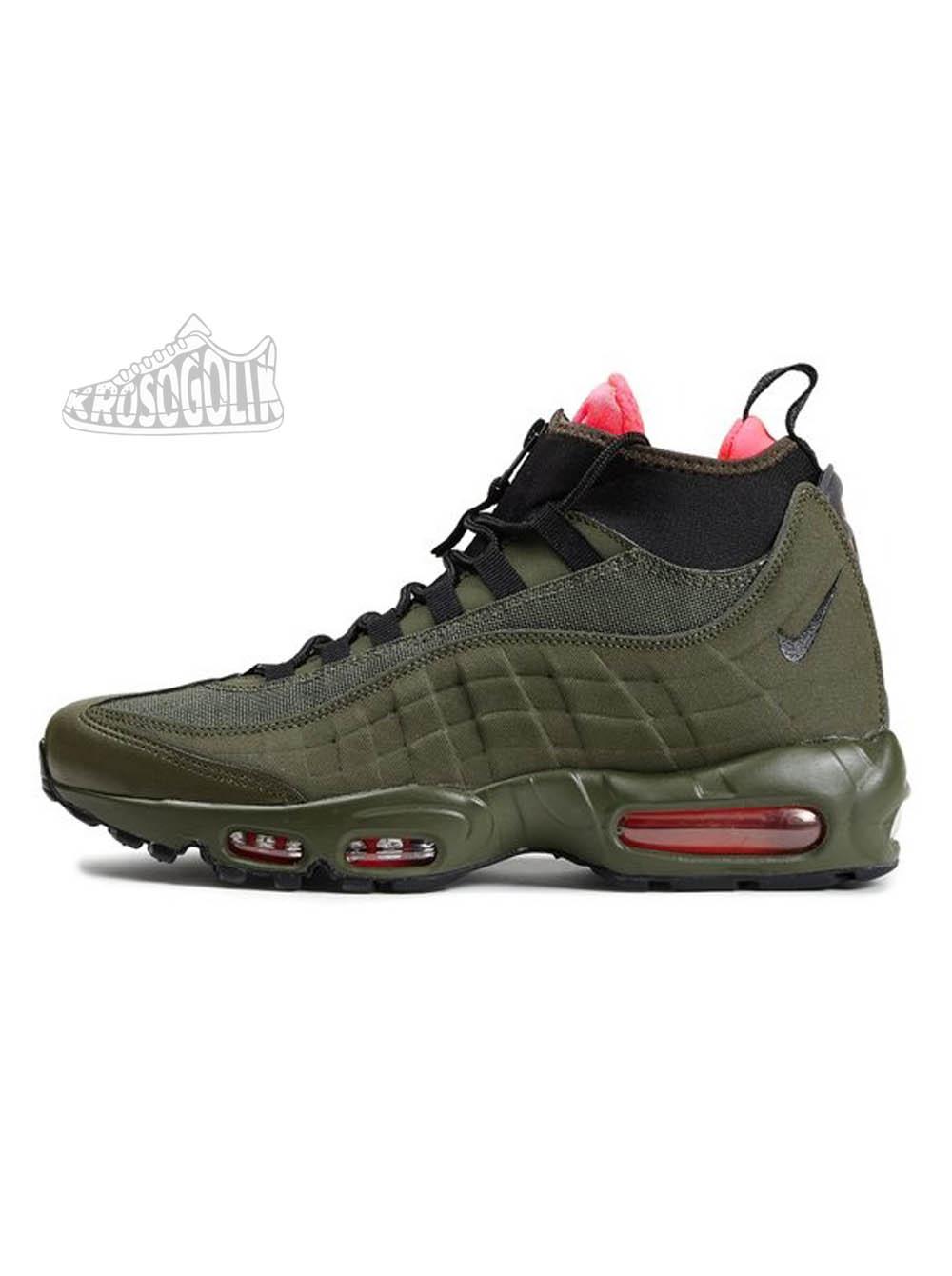 Una oración atención Confirmación  Купить мужские кроссовки Nike Air Max 95 Sneakerboot Dark Loden на  krosogolik.com