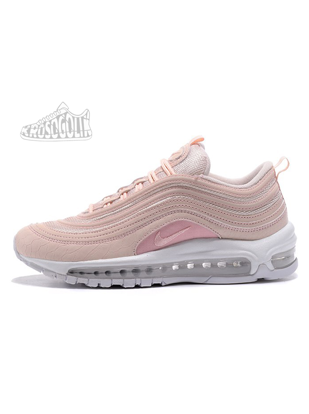 7e4048b9 Купить женские кроссовки Nike Air Max 97 Premium Pink Snakeskin на ...