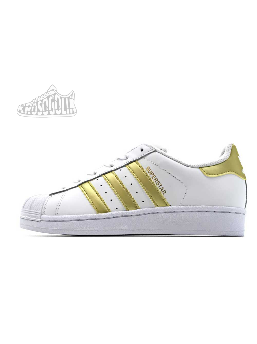 6c476ef1 Купить женские кроссовки Adidas Superstar II Women White Gold на ...